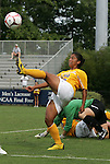 20 September 2009: LSU's Amanda Carreno. The Duke University Blue Devils played the Louisiana State University Tigers to a 2-2 tie after overtime at Koskinen Stadium in Durham, North Carolina in an NCAA Division I Women's college soccer game.