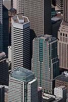 aerial photograph 50 Second Street, 595 Market Street, San Francisco