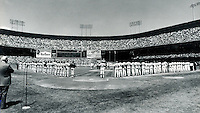 Giants opening Day at Candlestick Park 1985..photo by Ron Riesterer