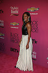 """Actress and Host Regina King  Attends """"BLACK GIRLS ROCK!"""" Honoring legendary singer Patti Labelle (Living Legend Award), hip-hop pioneer Queen Latifah (Rock Star Award), esteemed writer and producer Mara Brock Akil (Shot Caller Award), tennis icon and entrepreneur Venus Williams (Star Power Award celebrated by Chevy), community organizer Ameena Matthews (Community Activist Award), ground-breaking ballet dancer Misty Copeland (Young, Gifted & Black Award), and children's rights activist Marian Wright Edelman (Social Humanitarian Award) Hosted By Tracee Ellis Ross and Regina King Held at NJ PAC, NJ"""