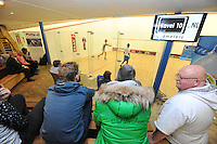 SQUARSH: DRACHTEN: 03-12-2014, Squash Fryslân/Flevoparq - Victoria Rotterdam, Fryslân met Marc ter Sluis, Nick Kuys, Jurrien Smeets, ©foto Martin de Jong