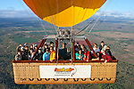 20101002 October 02 Cairns Hot Air Ballooning