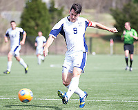 The Winthrop University Eagles played the UNC Wilmington Seahawks in The Manchester Cup on April 5, 2014.  The Seahawks won 1-0.  Jack Ward (9)