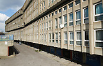 Robin Hood Gardens local authority council housing estate. East London E14. UK 2008. Facing Cotton Street E 14