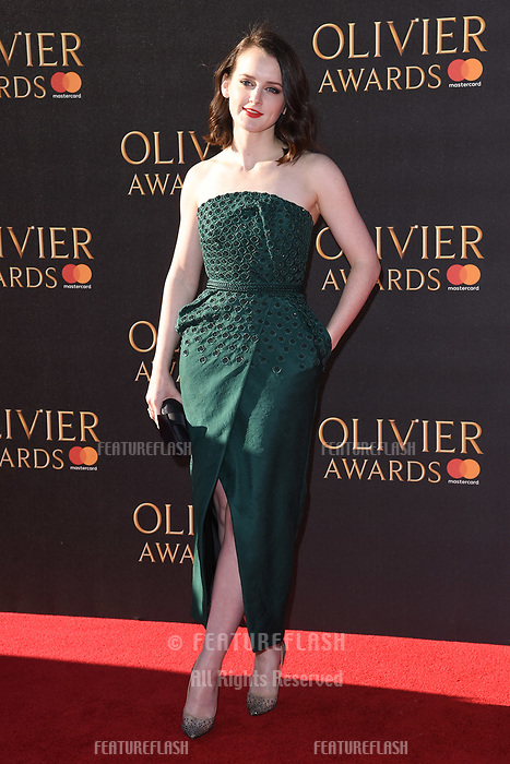 Sophie McShera at The Olivier Awards 2017 at the Royal Albert Hall, London, UK. <br /> 09 April  2017<br /> Picture: Steve Vas/Featureflash/SilverHub 0208 004 5359 sales@silverhubmedia.com