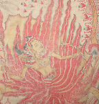 ATS-410 ANTIQUE BALINESE RAMAYAN PAINTING