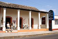 Restaurant Colonial in Santiago Tuxtla, Veracruz, Mexico