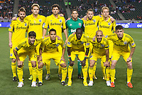 The Columbus Crew defeated CD Chivas USA 3-0 to open their Major League Soccer (MLS) 2013 campaign with a win on the road at Home Depot Center stadium in Carson, California on Saturday March 2, 2013.