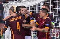 20151104 ROMA-CALCIO: CHAMPIONS LEAGUE - LA ROMA BATTE IL BAYER LEVERKUSEN