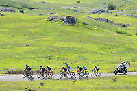 ITALIA. 09-05-2017. Nairo Quintana -COL- (Movistar team) durante la etapa 9 entre Montenero di Bisaccia a Blockhaus con 152 kms de la versi&oacute;n 100 del Giro de Italia hoy 14 de mayo de 2017. / Nairo Quintana -COL- (Movistar team) during stage 9 between Montenero di Bisaccia to Blockhaus with 152 kms of the 100 version of the Giro d'Italia today 14 May 2017 Photo: VizzorImage/  Gian Mattia D'Alberto / LaPresse<br /> VizzorImage PROVIDES THE ACCESS TO THIS PHOTOGRAPH ONLY AS A PRESS AND EDITORIAL SERVICE AND NOT IS THE OWNER OF COPYRIGHT; ANOTHER USE HAVE ADDITIONAL PERMITS AND IS  REPONSABILITY OF THE END USER
