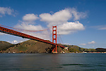 San Francisco, California: Golden Gate Bridge and Marin Headlands. Photo 15-casanf78242. Photo copyright Lee Foster.