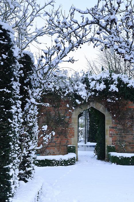 Garden Abbey House Garden Malmesbury 8th January 2010