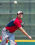 20 March 2015: Washington Nationals pitcher Max Scherzer on the mound during a Spring Training game against the Houston Astros at Osceola County Stadium in Kissimmee, Florida. The Nationals defeated the Astros 7-5 in Grapefruit League play. Mandatory Credit: Ed Wolfstein Photo *** RAW (NEF) Image File Available ***