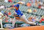 14 September 2008: Kansas City Royals' pitcher Yasuhiko Yabuta on the mound in relief against the Cleveland Indians at Progressive Field in Cleveland, Ohio. The Royal defeated the Indians 13-3 to take the 4-game series three games to one...Mandatory Photo Credit: Ed Wolfstein Photo