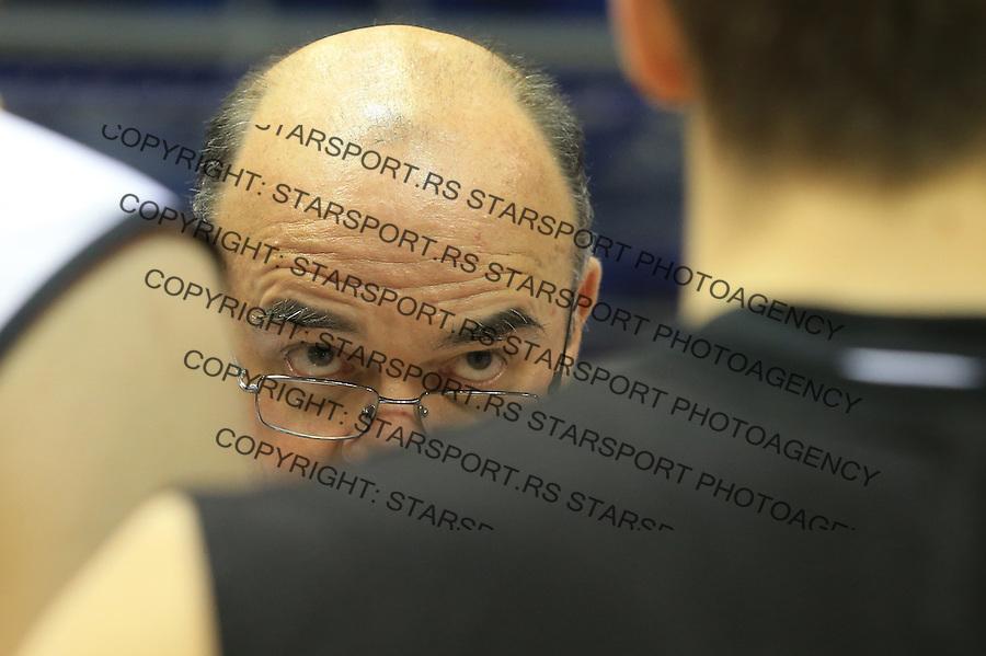 Kosarka play off final game 1 <br /> Partizan v Crvena Zvezda<br /> Head coach Dusko Vujosevic<br /> Belgrade, 06.15.2014.<br /> foto: Srdjan Stevanovic/Starsportphoto &copy;