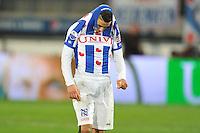 VOETBAL: ABE LENSTRA STADION: HEERENVEEN: 22-03-2014, SC Heerenveen - NEC, uitslag 2-2, ©foto Martin de Jong