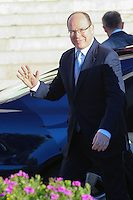 Prince Albert II of Monaco attends the Mass of Sainte Devote - Monaco