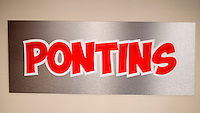 Pontins Holiday Centre Sign - Apr 2014.