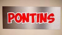 Pontins Holiday Centre Sign - Apr 2014.