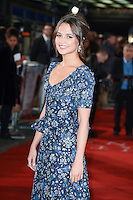 LONDON, UK. October 19, 2016: Alicia Vikander at the premiere of &quot;The Light Between Oceans&quot; at the Curzon Mayfair, London.<br /> Picture: Steve Vas/Featureflash/SilverHub 0208 004 5359/ 07711 972644 Editors@silverhubmedia.com