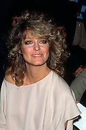 "Manhattan, New York City - February 06, 1978. Farrah Fawcett at the Fabrege party held at Studio 54. (February 2, 1947 - June 25, 2009) She was an American actress and artist, who rose to international fame when she posed for poster as private investigator Jill Munroe in the first season of television series Charlie's Angels (1976-77). Notably, Fawcett was ranked No.26 on TV Guide's ""50 Greatest TV Stars of All Time"" list, as well as starred in television movies such as The Burning Bed and Poor Little Rich Girl: The Barbara Hutton Story."