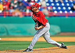 4 March 2012: Houston Astros' pitcher Paul Clemens in action against the Washington Nationals at Space Coast Stadium in Viera, Florida. The Astros defeated the Nationals 10-2 in Grapefruit League action. Mandatory Credit: Ed Wolfstein Photo