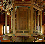 Rinzo Rotating Sutra Library, Kyozo Sutra Storehouse, Composite Image, Hasedera Hase Kannon Temple, Kamakura, Japan
