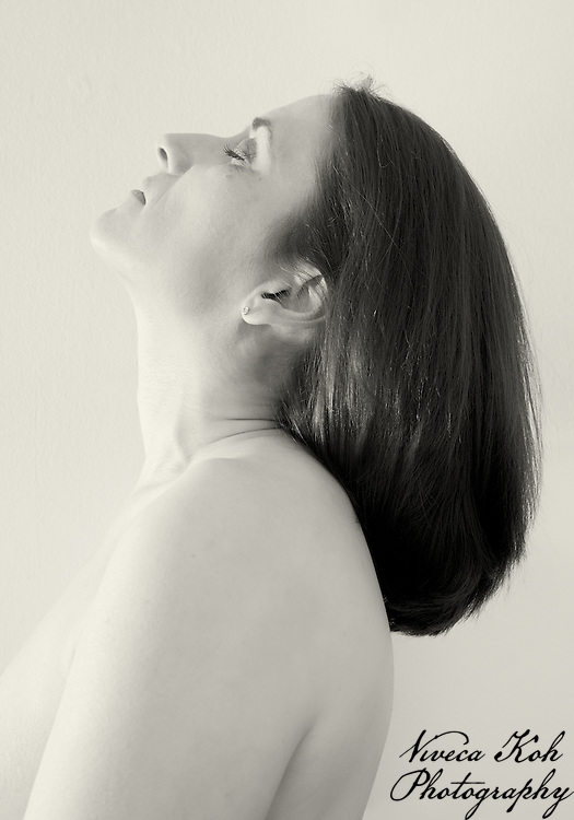 Self portrait in monochrome