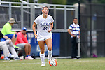 30 August 2015: Duke's Morgan Reid. The Duke University Blue Devils hosted the William & Mary University Tribe at Koskinen Stadium in Durham, NC in a 2015 NCAA Division I Women's Soccer game. Duke won the game 2-0.