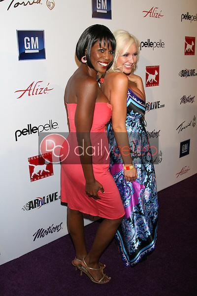 Omarosa Manigault-Stallworth and Christi Shake<br />at Celebrity Catwalk for Charity. The Highlands Nightclub, Hollywood, CA. 08-16-07<br />Dave Edwards/DailyCeleb.com 818-249-4998