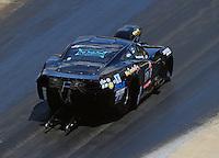 Jun 18, 2016; Bristol, TN, USA; NHRA pro mod driver Mike Castellana during qualifying for the Thunder Valley Nationals at Bristol Dragway. Mandatory Credit: Mark J. Rebilas-USA TODAY Sports