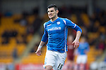 St Johnstone v Motherwell&hellip;20.02.16   SPFL   McDiarmid Park, Perth<br />Graham Cummins<br />Picture by Graeme Hart.<br />Copyright Perthshire Picture Agency<br />Tel: 01738 623350  Mobile: 07990 594431