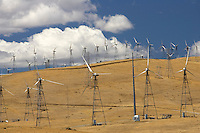 is one of the earliest in the United States located in the Altamont Pass. The wind farm is composed of over 4900 relatively small wind turbines of various types, making it at one time the largest farm in the world in terms of capacity. Altamont Pass is still the largest concentration of wind turbines in the world, with a capacity of 576 megawatts (MW), producing about 125 MW on average and 1.1 terawatt-hours (TWh) yearly.[1] They were installed after the 1970s energy crisis in response to favorable tax policies for investors.