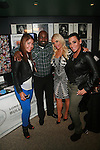 Madelyn Arias, Soulgee McQueen, Coco and Yazmin Pernett Attend  the Long Island Bulldog Rescue Fundraiser Comedy Show Featuring Ice T's Comedy Debut, Richard Belzer and Tommy Davidson Held At Carolines on Broadway, NY  10/24/12