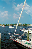 Fort Lauderdale, Florida, Water, Reflections, Sailing, Sailboats, Motor Boating, Power Yachts,