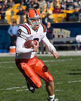 03 November 2007: Syracuse quarterback Andrew Robinson..The Pitt Panthers defeated the Syracuse Orange  20-17 on November 03, 2007 at Heinz Field, Pittsburgh, Pennsylvania.
