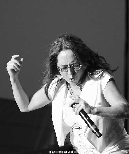 Teena Marie performs  at the African American Heritage Festival in Baltimore on Friday, July 3, 2009.
