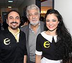 Placido Domingo visits ¡Figaro! (90210)