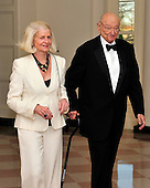 Edward Koch and Diane Mulcahy arrive for the Official Dinner in honor of Prime Minister David Cameron of Great Britain and his wife, Samantha, at the White House in Washington, D.C. on Tuesday, March 14, 2012..Credit: Ron Sachs / CNP.(RESTRICTION: NO New York or New Jersey Newspapers or newspapers within a 75 mile radius of New York City)