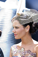 Nicole Farral in the lead up to the Melbourne Cup Fashions on the Field