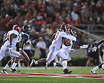 Alabama running back Trent Richardson (3) runs for a touchdown in the third quarter vs. Ole Miss at Vaught-Hemingway Stadium in Oxford, Miss. on Saturday, October 14, 2011. Alabama won 52-7.