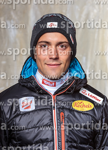 08.10.2016, Olympia Eisstadion, Innsbruck, AUT, OeSV Einkleidung Winterkollektion, Portraits 2016, im Bild Philipp Orter, Nordische Kombination, Herren // during the Outfitting of the Ski Austria Winter Collection and official Portrait Photoshooting at the Olympia Eisstadion in Innsbruck, Austria on 2016/10/08. EXPA Pictures © 2016, PhotoCredit: EXPA/ JFK