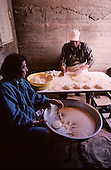 = The Samaritans, preparing &quot;matsot&quot; (special bread&quot; for &quot;Passover&quot;  Mount Gerizim  Israel  near Sekhem  /// les Samaritains, Paques, preparation des matsots  Mont Gerizim  Israel  +