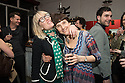 London, UK. 24.02.2014. Gwyneth Herbert (music and lyrics) and Diane Sameuls (book writer) at the after party for press night of The A to Z of Mrs P, which premieres at Southwark Playhouse. © Jane Hobson.