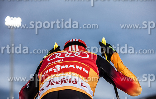 18.01.2014, Casino Arena, Seefeld, AUT, FIS Weltcup Nordische Kombination, Seefeld Triple, Langlauf, im Bild Eric Frenzel (GER) // Eric Frenzel (GER) during Cross Country at FIS Nordic Combined World Cup Triple at the Casino Arena in Seefeld, Austria on 2014/01/18. EXPA Pictures © 2014, PhotoCredit: EXPA/ JFK