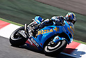 July 3, 2010 - Catalunya, Spain - Rizla Suzuki MotoGP Team's Italian Loris Capirossi takes a curve during a free MotoGP practice session at Catalunya circuit, Spain, on July 3, 2010. (Photo Andrew Northcott/Nippon News)