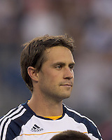 Los Angeles Galaxy defender Todd Dunivant (2). In a Major League Soccer (MLS) match, the Los Angeles Galaxy defeated the New England Revolution, 1-0, at Gillette Stadium on May 28, 2011.