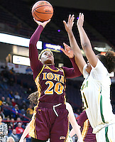 Iona defeats Siena 67-47 in a quarterfinal game of the MAAC tournament on March 04, 2017 at the Times Union Center in Albany, New York.  (Bob Mayberger/Eclipse Sportswire)