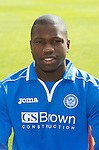 St Johnstone FC 2013-14<br /> Nigel Hasselbaink<br /> Picture by Graeme Hart.<br /> Copyright Perthshire Picture Agency<br /> Tel: 01738 623350  Mobile: 07990 594431
