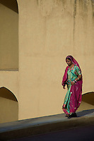 Women at the Observatory in Jaipur India